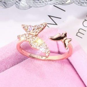 COMING SOON! 18K Gold Butterfly Adjustable Ring